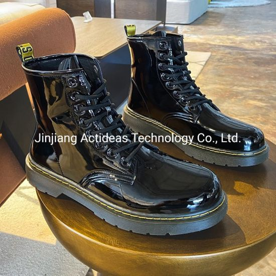 High Quality Waterproof Leather Camouflage Military Combat Boots Men
