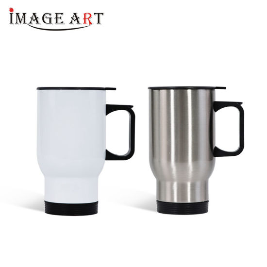 High Quality 450ml Sublimation Stainless Steel Car Mug