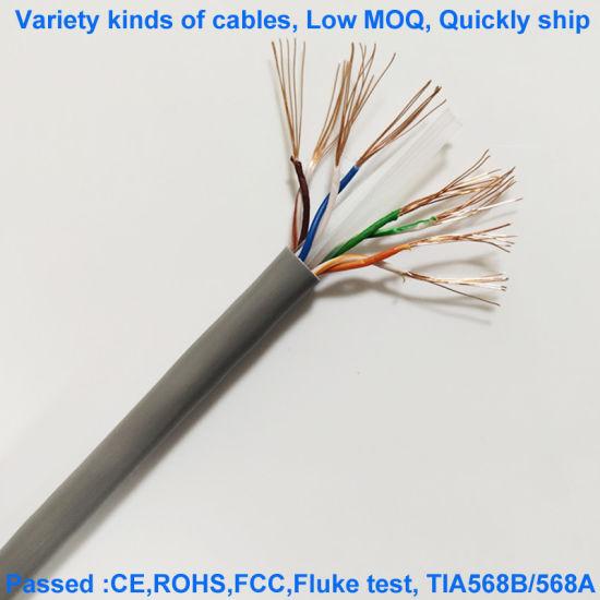 Cat6e UTP 24AWG Gray Network Cable