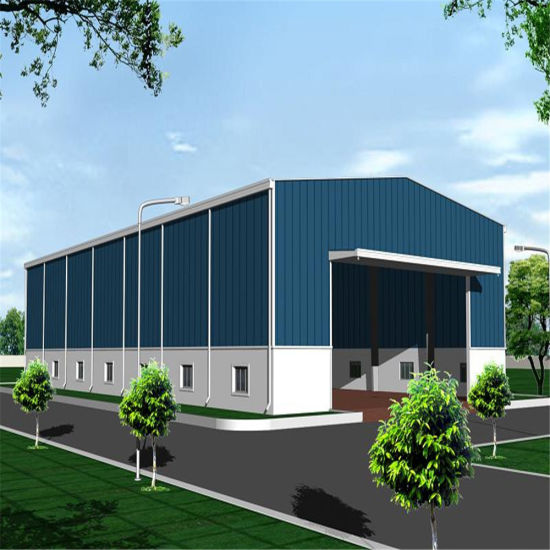 Q235 Q345 Light Steel Frame Structure Warehouse pictures & photos