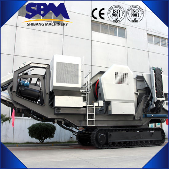 Heavy Duty Equipment Mobile Crush Plant for Sale pictures & photos