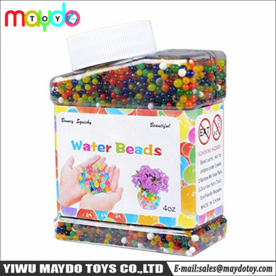 China Rainbow Water Beads Crystal Soil For Plants Vase Filler Home
