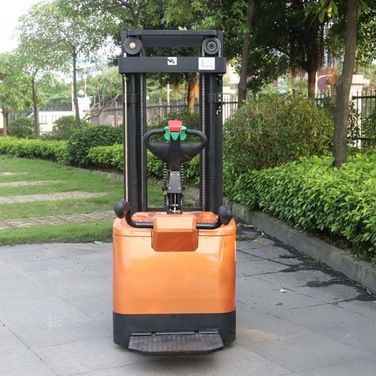 Marshell Brand Forklift Truck 1.6t Electric Pallet Stacker (CDD16) pictures & photos