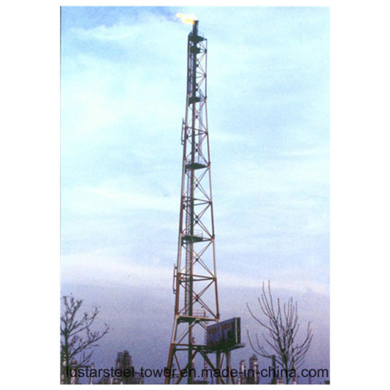 [Hot Item] 15m Steel Monopole Antenna Torch Tower