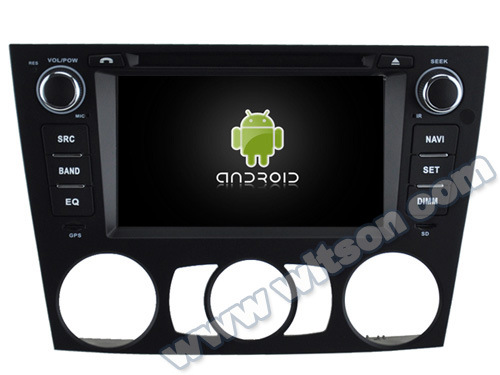 Witson Android 5.1 Car DVD GPS for BMW 3 Series E90/E91/E92/E93 2005-2012 with Chipset 1080P 16g ROM WiFi 3G Internet DVR Support (A5733) pictures & photos