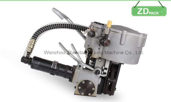 Combination Pneumatic Steel Strapping Machine (KZ-32) pictures & photos