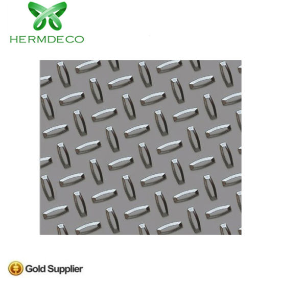 Bis SGS Certified China Suppliers 316L Embossing Stainless