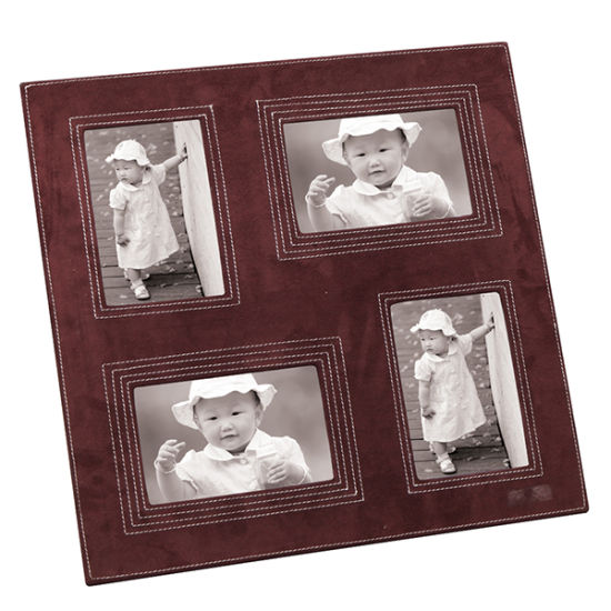 Leather Photo Frame with Multiple Opening pictures & photos