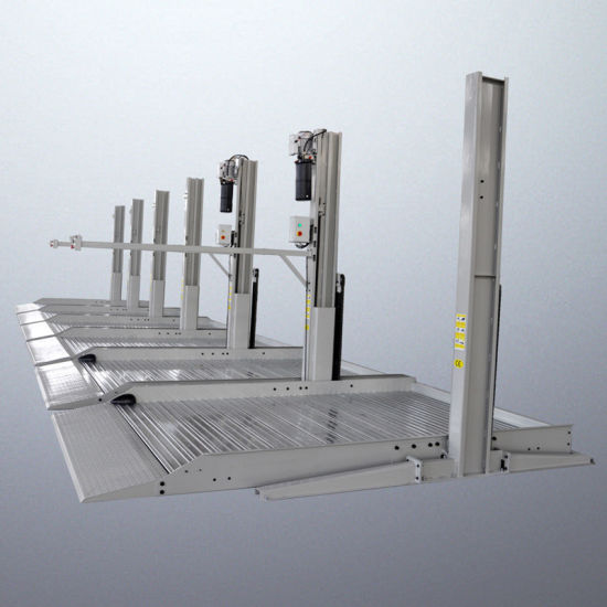 Electric Unlock Hydraulic Two Post Car Parking Lift