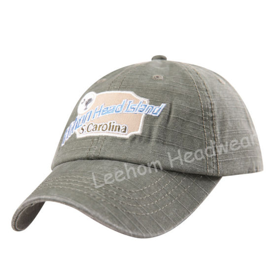 Beach Surf Pigment Dyed Wash Rayon Slub Cotton Baseball Cap