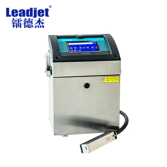 china online ink jet coding printer expiry date code packaging