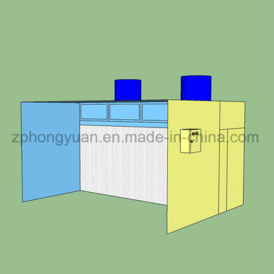 Industrial Open Front Paint Booth for Sale