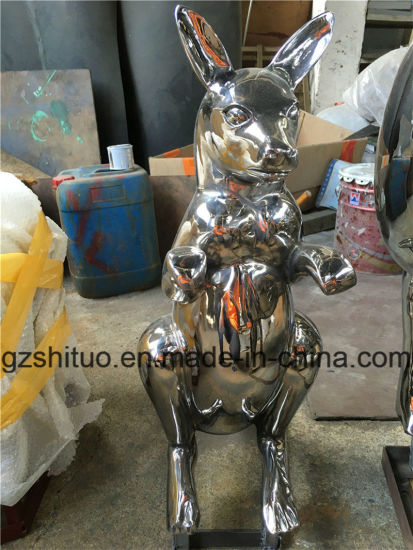 Stainless Steel Kangaroo, Outdoor Garden Stainless Steel Animal Art Ornament pictures & photos