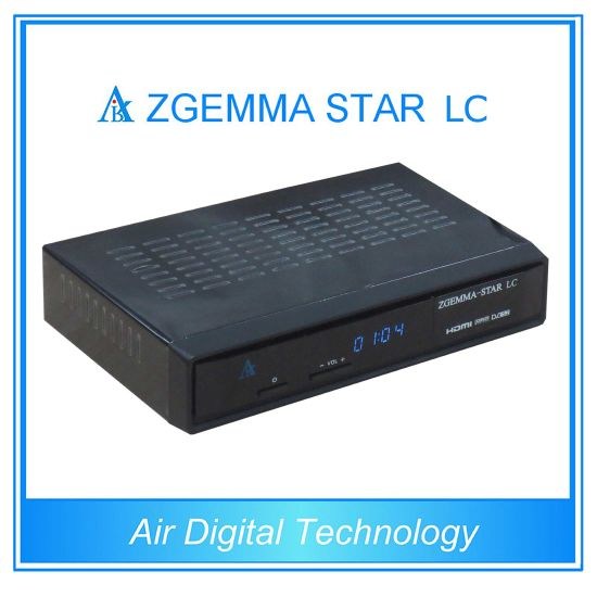 China Cable Connection TV Channel DVB C Zgemma-Star LC - China DVB-C ...