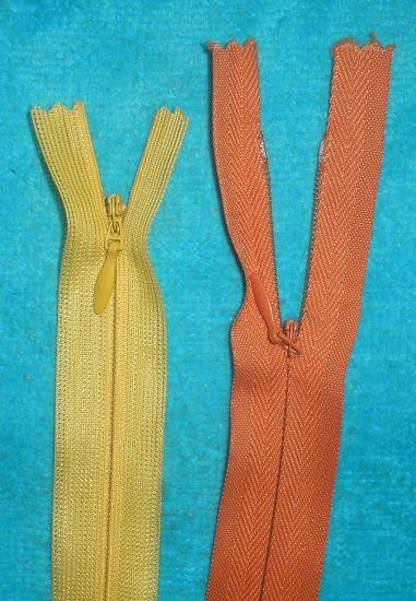 Custom Long Chain Nylon Open End Invisible Zipper