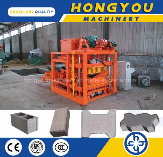 Qt4-25 Concrete Cement Block Brick Making Machine for Small Investment pictures & photos