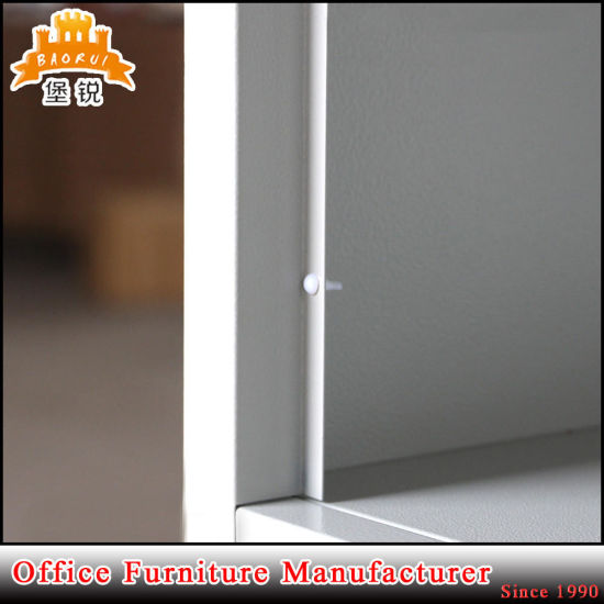 Hot Selling Cheap Steel Two Door Wardrobe pictures & photos