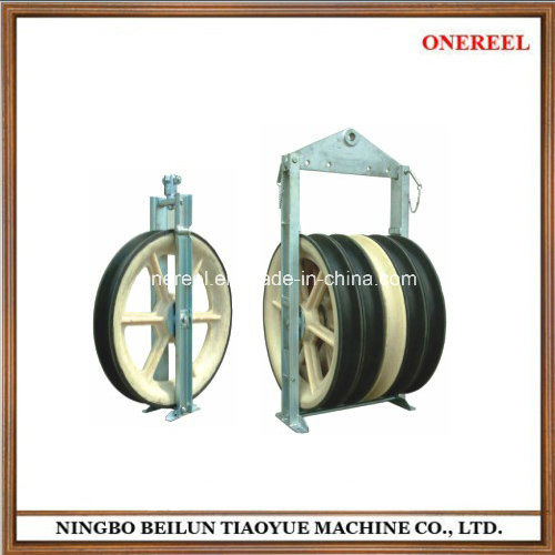 Chinese Supplier Large Diameter Pulley Block