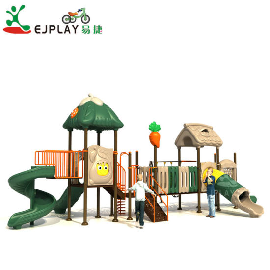 Funny Style Colorful Children Outdoor Plastic Tubes Playground