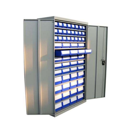 High Strength Steel Bin Storage Cabinet