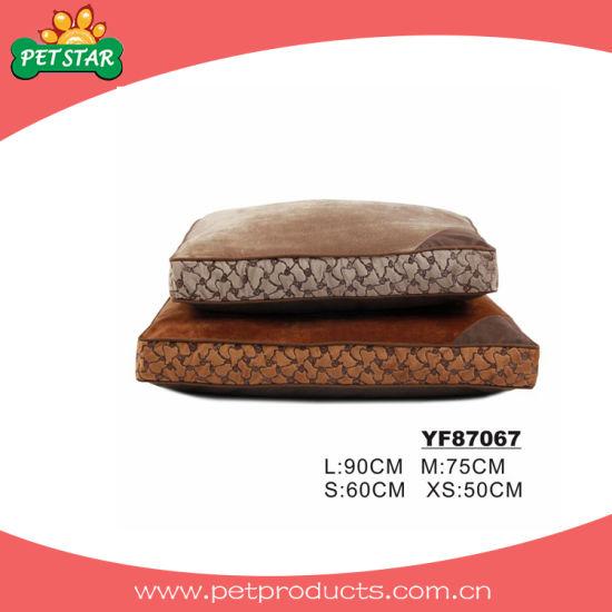 China Rectangle Cheap Large Dog Bed Dog Bed Inserts Yf87067