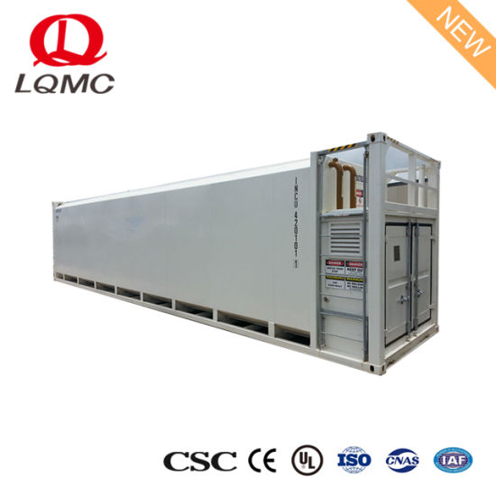 China 40FT Bulk Storage Container Self Bunded Diesel Fuel Tank