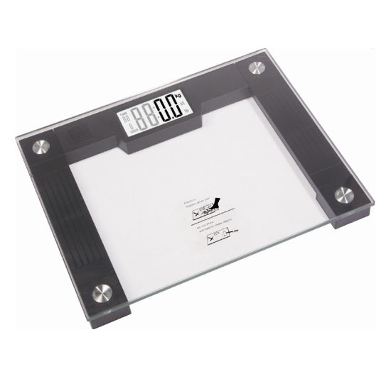 Electronic Glass Body Scale of Large Size (AV-908)