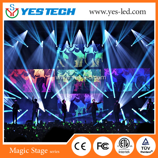 Hot Sale! ! ! Club DJ Booth RGB LED Video Curtain pictures & photos