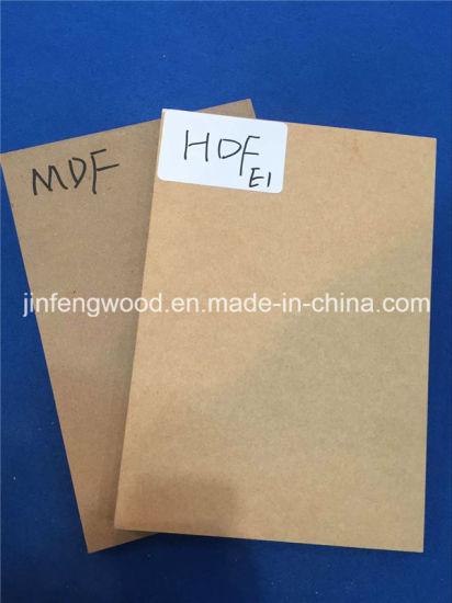 18mm Thickness E1 Grade MDF / Melamine MDF