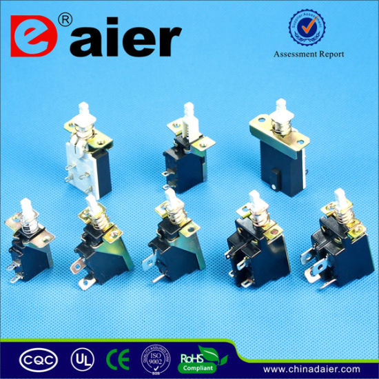 Plastic Push Switch, Momentary Switch, PCB Push Button Switch (PBS-18B) pictures & photos