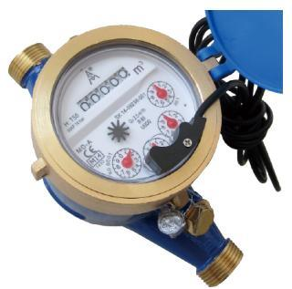 MID Certificated Multi Jet Dry Type Brass Water Meter pictures & photos