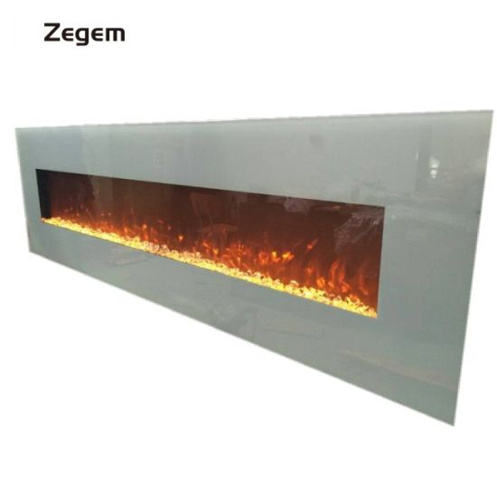 China Best Price 72 Inch White Indoor Electric Fireplace And Heater