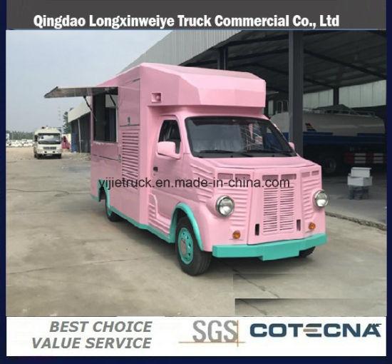 Good Sales Mini Mobile Kitchen Food Van Truck