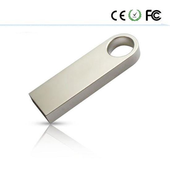New USB Flash Drive Pen Memory Stick Key Drive U Disk Silver Se9