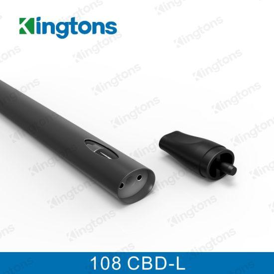 Kingtons Mini Ecig Unique Design 108 Cbd-L Cbd Vaproizer with 6 Months Warranty