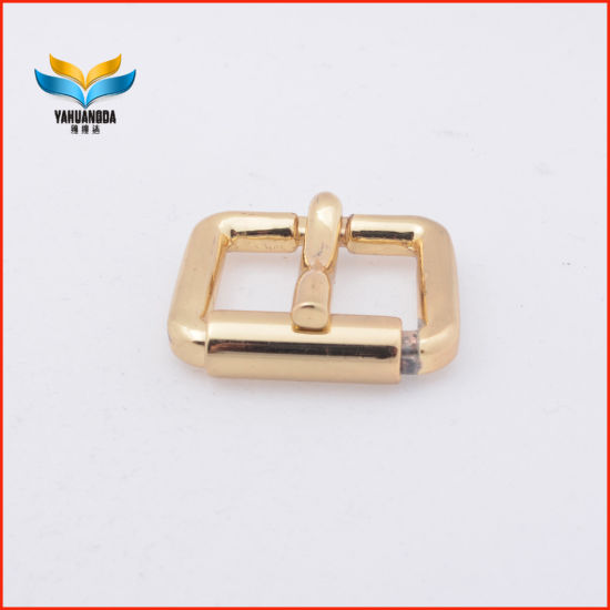 Shiny Pin Alloy Belt Buckle Handbag Belt Pin Buckles