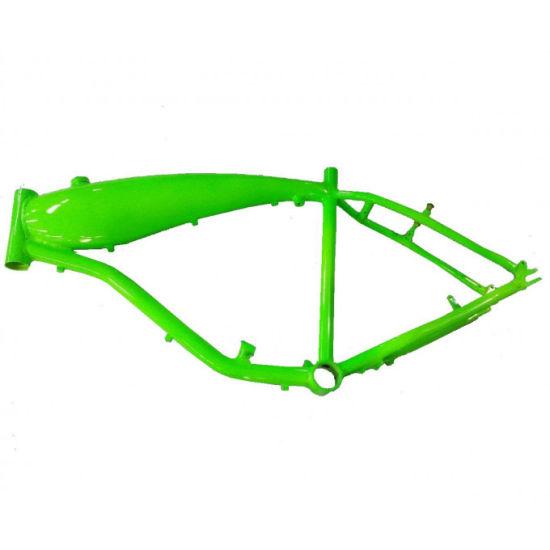 China 3.75L Bicimoto Bicycle Frame / Motorized Alum Bicycle Frame ...