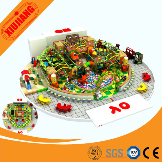 Themed Indoor Playground Set for Kids, Playground Indoor (XJ1001-BD19)