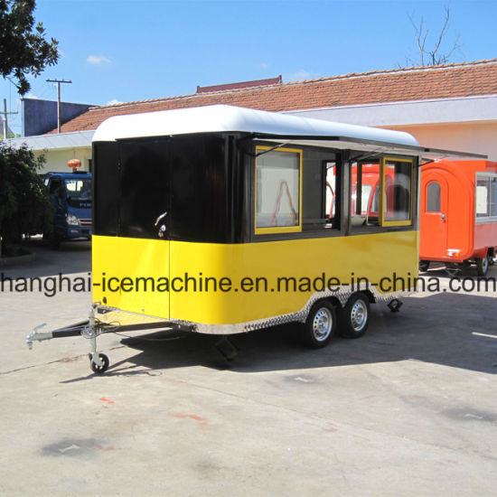 China Food Catering Trailer, Mobile Kitchen Truck for Sale Jy-B27 ...