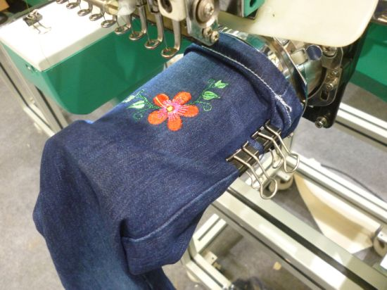 China Low Price New Design Sigle Head Cap Embroidery Machine
