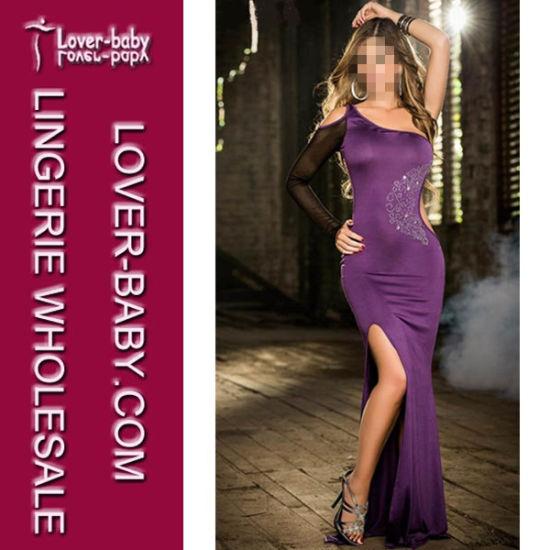 Sexy Rhinestone Formal Evening Dress (L51303-1)