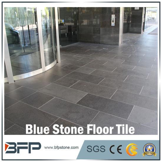 China Natural Popular Blue Stone For Floor Tilepaving Stonewall