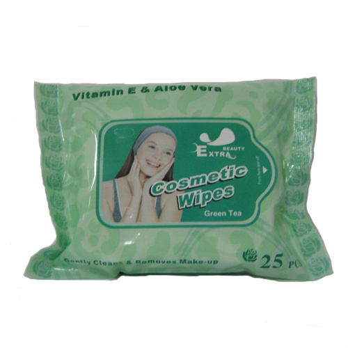 Makeup Remove Cosmetic Wet Wipes 25PCS pictures & photos