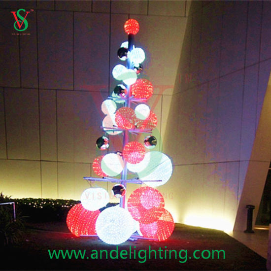 3d tree ball lights large outdoor garden plaza decoration
