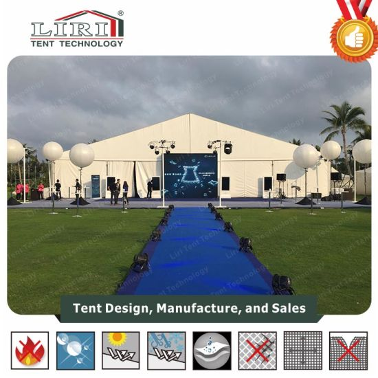 1000 People Wedding Tent 25X50m with Ceiling in Nigeria for Sale pictures & photos