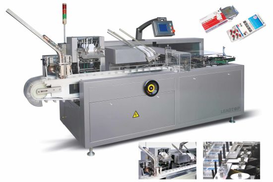 Fully Automatic Carton Box Cartoning Food Pharmaceutical Machine