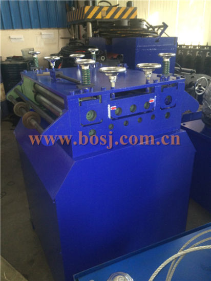 Steel Display Shelf for Supermarket Roll Forming Production Machine Thailand pictures & photos