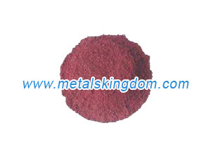 Electrolytic Method Cuprous Copper Oxide Cu2o Red 97% Manufacturer