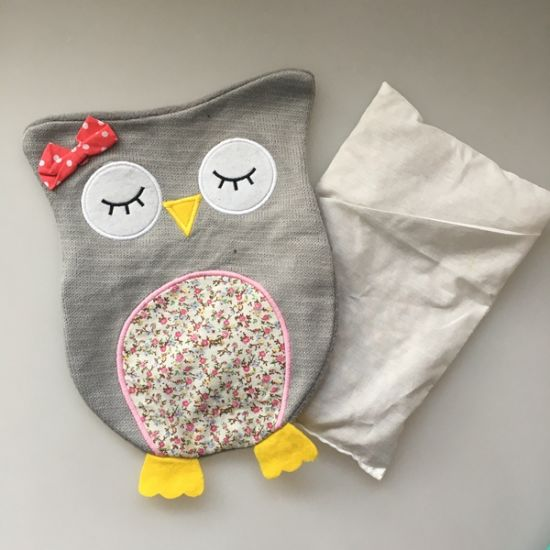 Knitted Owl Cover for Heat Bag and Rubber Bag pictures & photos