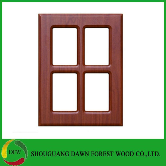 China Used For 18mm Kitchen Cabinet Doors With Tempered Glass